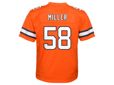 Denver Broncos Von Miller Nike NFL Youth Color Rush Jersey
