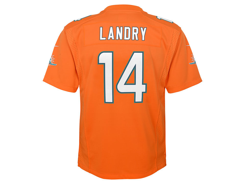 ad06564db Miami Dolphins Jarvis Landry Nike NFL Youth Color Rush Jersey