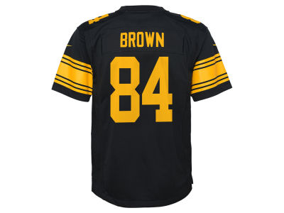 Pittsburgh Steelers Antonio Brown Nike NFL Youth Color Rush Jersey
