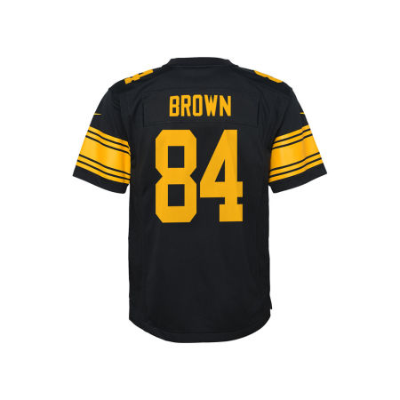 Pittsburgh Steelers Antonio Brown NFL Youth Color Rush Jersey