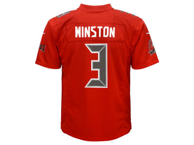 Tampa Bay Buccaneers Jameis Winston NFL Youth Color Rush Jersey
