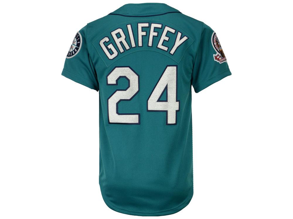 ea8233634ea Seattle Mariners Ken Griffey Jr. Mitchell   Ness MLB Men s Authentic Jersey