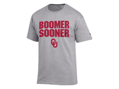 Oklahoma Sooners 2 for $28 Champion NCAA Men's Boomer Sooner T-Shirt