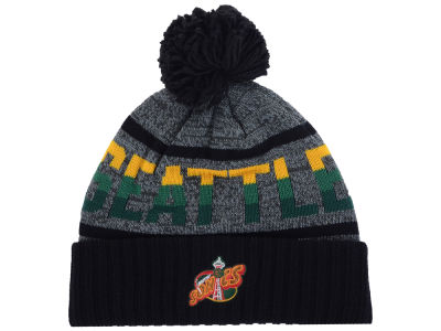 Seattle SuperSonics Mitchell and Ness Mitchell and Ness NBA Grayish Knit