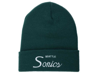 Seattle SuperSonics Mitchell and Ness NBA Old Cool Knit