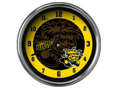 Wichita State Shockers Chrome Clock II