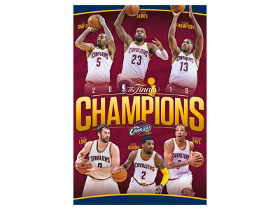 Cleveland Cavaliers 24x36 NBA Champs Poster