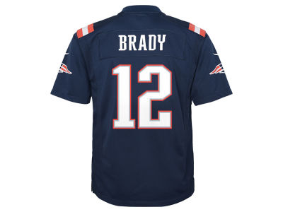 New England Patriots Tom Brady NFL Youth Color Rush Jersey