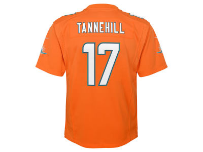 Miami Dolphins Ryan Tannehill NFL Youth Color Rush Jersey