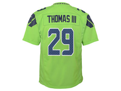 Seattle Seahawks Earl Thomas III NFL Youth Color Rush Jersey