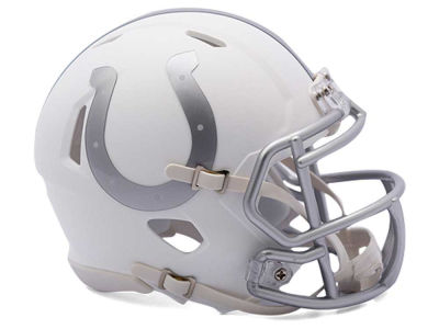 Indianapolis Colts Rank Bull Speed ICE Alt Mini Helmet