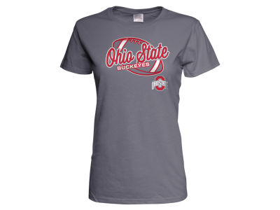 Ohio State Buckeyes NCAA Women's Identity Script Football T-Shirt