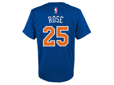 New York Knicks Derrick Rose NBA Youth Name And Number T-Shirt