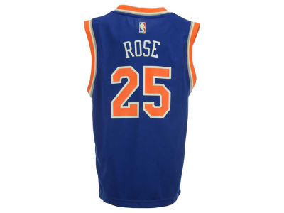 New York Knicks Derrick Rose Youth NBA Revolution 30 Jersey
