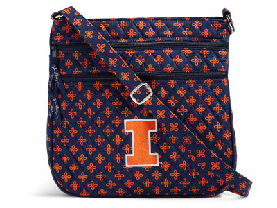 Illinois Fighting Illini Vera Bradley Vera Bradley Triple Zip Hipster