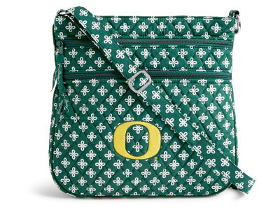 Oregon Ducks Vera Bradley Vera Bradley Triple Zip Hipster
