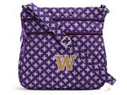 Washington Huskies Vesi Vera Bradley Triple Zip Hipster Apparel & Accessories