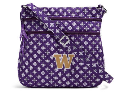 Washington Huskies Vera Bradley Vera Bradley Triple Zip Hipster