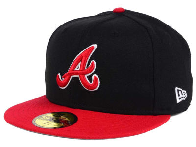 Atlanta Braves New Era MLB Rivalry 59FIFTY Cap