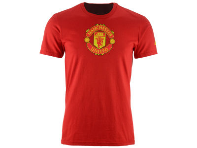 Manchester United adidas International Soccer Men's Club Team Crest Performance T-Shirt