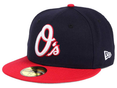 Baltimore Orioles New Era MLB Rivalry 59FIFTY Cap