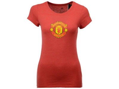 Manchester United adidas International Soccer Club Team Women's Crest T-Shirt