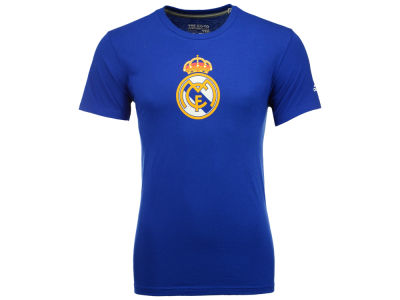 Real Madrid adidas International Soccer Men's Club Team Crest Performance T-Shirt