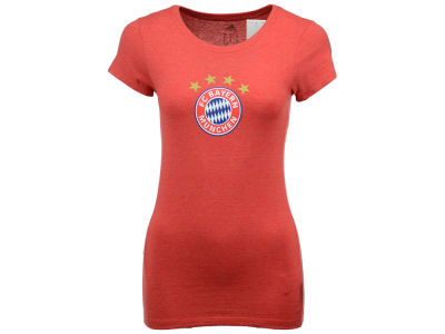 Bayern Munich adidas International Soccer Club Team Women's Crest T-Shirt
