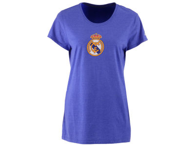 Real Madrid adidas International Soccer Club Team Women's Crest T-Shirt
