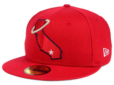 Los Angeles Angels New Era MLB Twist Up 59FIFTY Cap