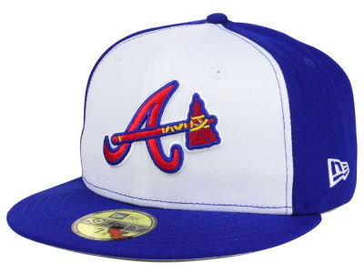 Atlanta Braves New Era MLB Twist Up 59FIFTY Cap