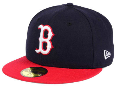 Boston Red Sox New Era MLB Twist Up 59FIFTY Cap