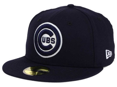 Chicago Cubs New Era MLB Twist Up 59FIFTY Cap