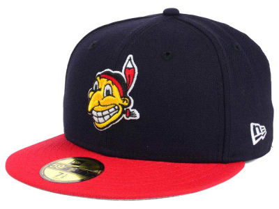 Cleveland Indians New Era MLB Twist Up 59FIFTY Cap