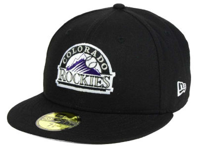 Colorado Rockies New Era MLB Twist Up 59FIFTY Cap
