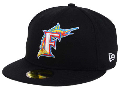 Florida Marlins New Era MLB Twist Up 59FIFTY Cap