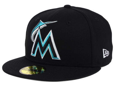 Miami Marlins New Era MLB Twist Up 59FIFTY Cap
