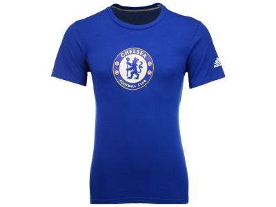 Chelsea adidas International Soccer Men's Club Team Crest Performance T-Shirt