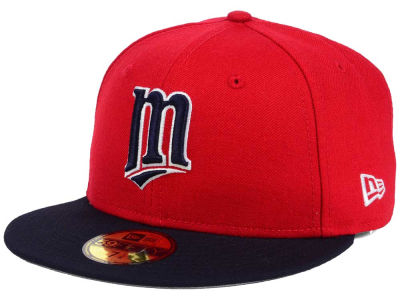 Minnesota Twins New Era MLB Twist Up 59FIFTY Cap