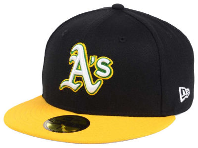Oakland Athletics New Era MLB Twist Up 59FIFTY Cap