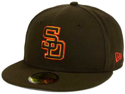San Diego Padres New Era MLB Twist Up 59FIFTY Cap