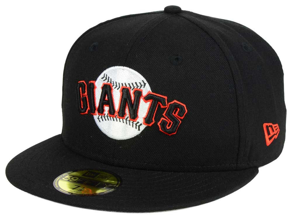 buy popular c5e41 15e2e clearance san francisco giants 59fifty black on black fitted hat looser  cfdd5 8bfca