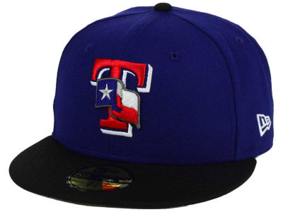 Texas Rangers New Era MLB Twist Up 59FIFTY Cap