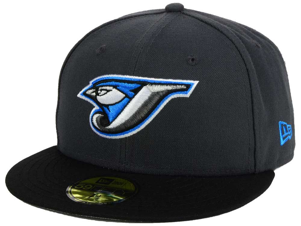 free shipping 89351 33499 ... toronto blue jays new era mlb twist up 59fifty cap ...