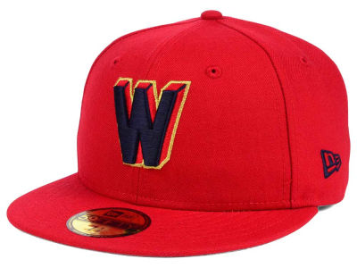 Washington Nationals New Era MLB Twist Up 59FIFTY Cap