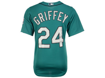 Seattle Mariners Ken Griffey Jr. MLB Men's Hall Of Fame Induction Patch Cool Base Jersey