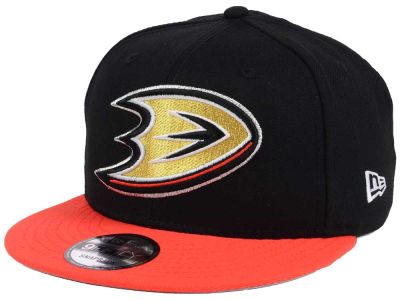 Anaheim Ducks New Era NHL All Day 2T 9FIFTY Snapback Cap