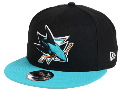 San Jose Sharks New Era NHL All Day 2T 9FIFTY Snapback Cap