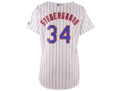 New York Mets Noah Syndergaard MLB Women's Cool Base Player Replica Jersey