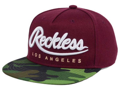 Young And Reckless Big R Script OPS Snapback Cap